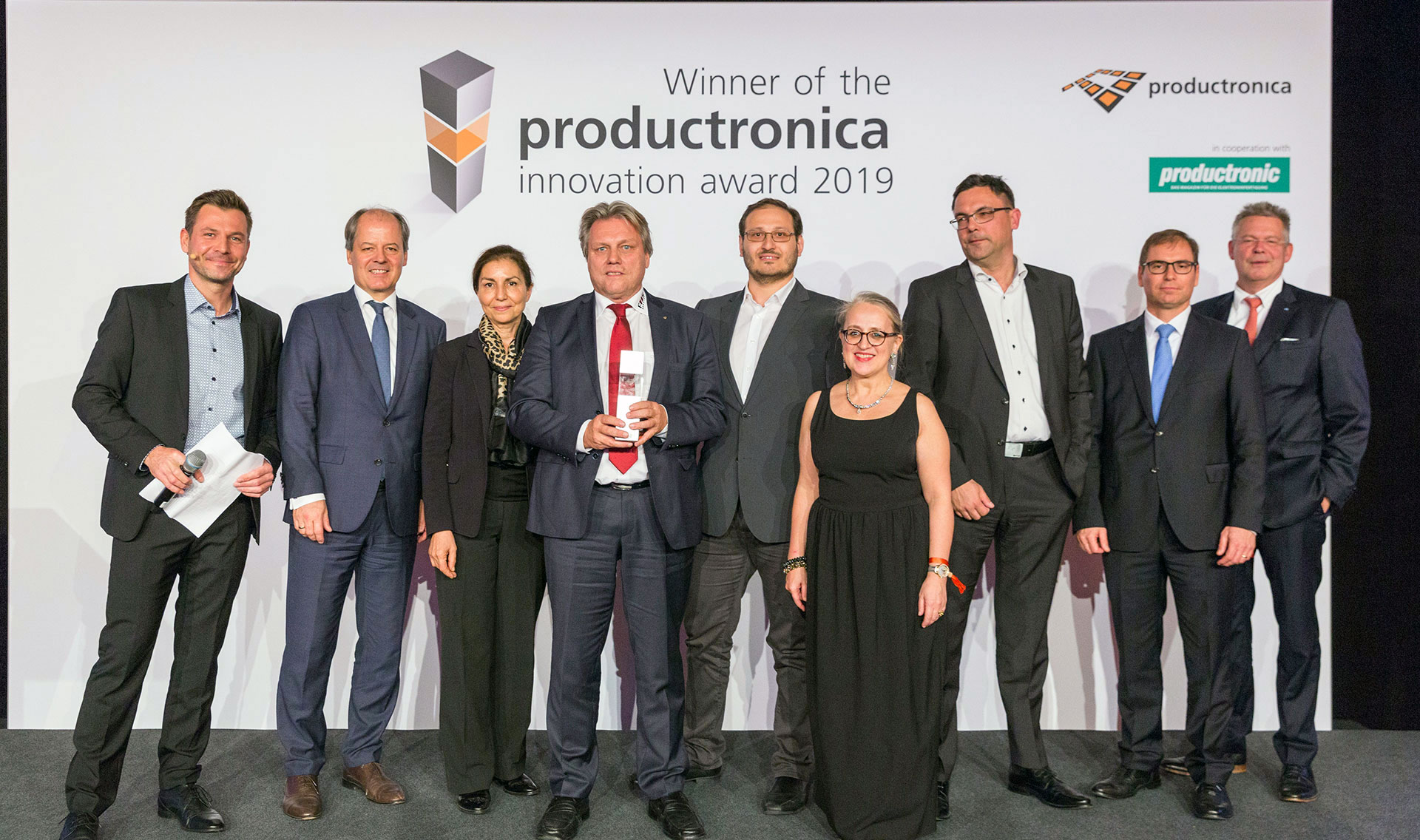 "Productronica Innovation Award ""Future Markets"""