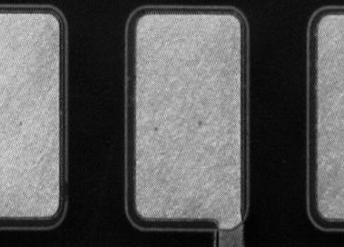 Abbildung 4 - Bondpad nach CO2 Reinigung